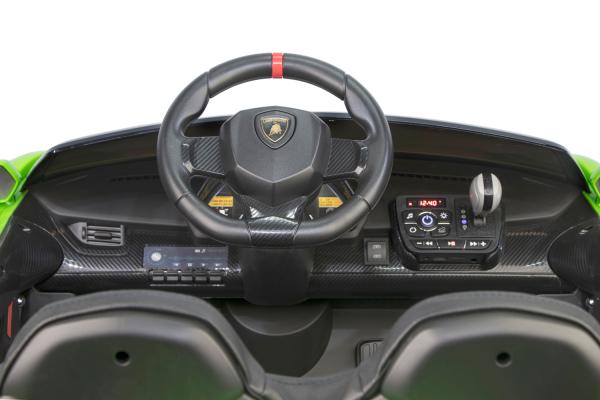 Masinuta electrica Lamborghini Veneno 180W 12V PREMIUM #Negru 2