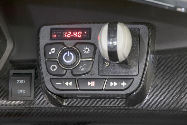 Masinuta electrica Lamborghini Veneno 180W 12V PREMIUM #Negru 3