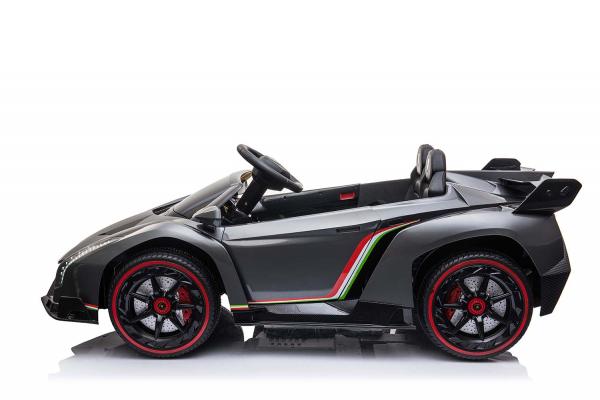 Masinuta electrica Lamborghini Veneno 180W 12V PREMIUM #Negru 1