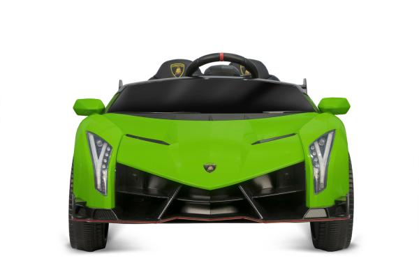Masinuta electrica Lamborghini Veneno 180W 12V PREMIUM #Verde [6]