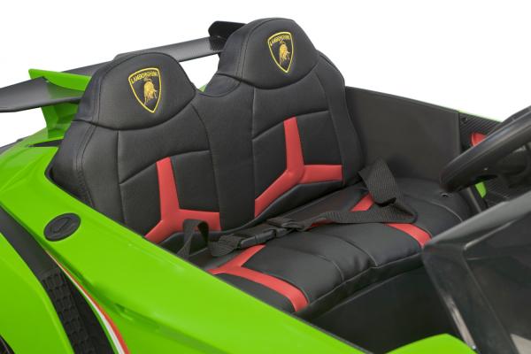 Masinuta electrica Lamborghini Veneno 180W 12V PREMIUM #Verde [2]