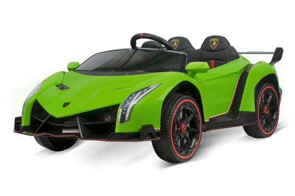Masinuta electrica Lamborghini Veneno 180W 12V PREMIUM #Verde [0]