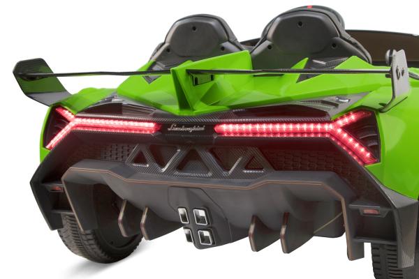 Masinuta electrica Lamborghini Veneno 180W 12V PREMIUM #Verde [11]