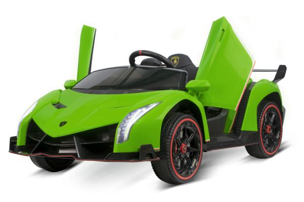Masinuta electrica Lamborghini Veneno 180W 12V PREMIUM #Verde [4]