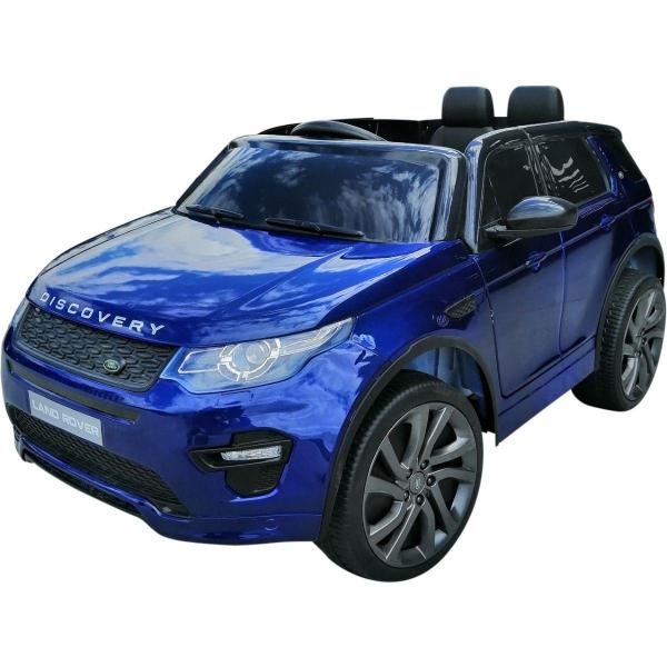 Masinuta electrica Land Rover Discovery DELUXE cu Touchscreen Mp4 #Albastru 0