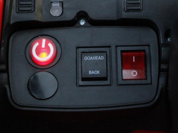 Masinuta electrica Land Rover Discovery DELUXE cu Touchscreen Mp4 #Negru 5