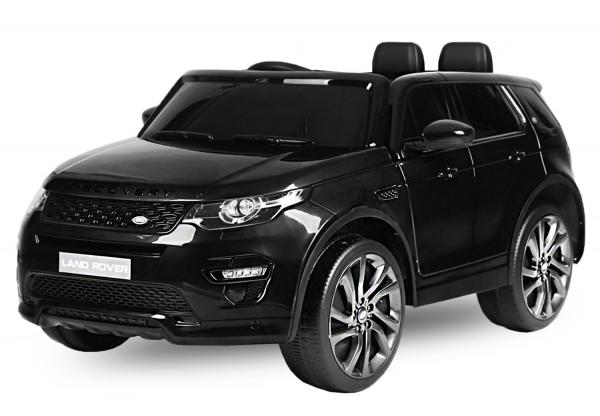 Masinuta electrica Land Rover Discovery DELUXE cu Touchscreen Mp4 #Negru 0