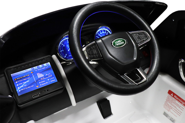 Masinuta electrica Land Rover Discovery DELUXE cu Touchscreen Mp4 #Negru 7