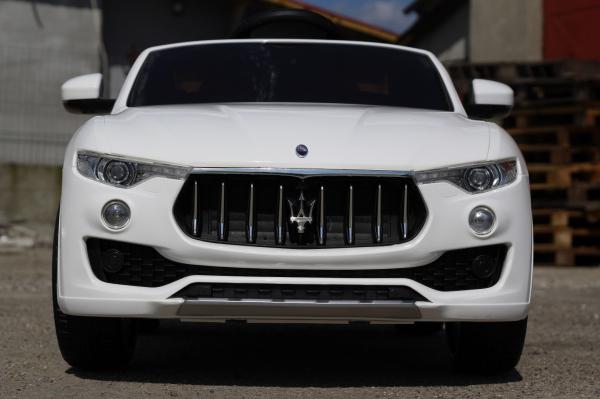 Masinuta electrica Maserati Levante 2x35W PREMIUM #Alb 1