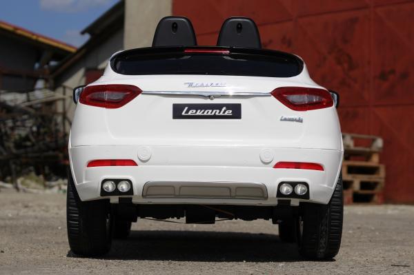 Masinuta electrica Maserati Levante 2x35W PREMIUM #Alb 6