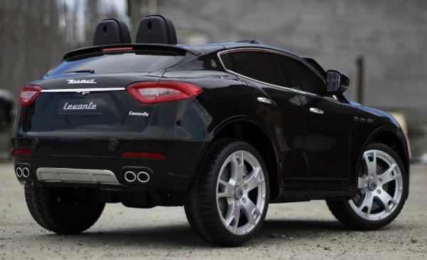 Masinuta electrica Maserati Levante 2x35W PREMIUM #Negru 5