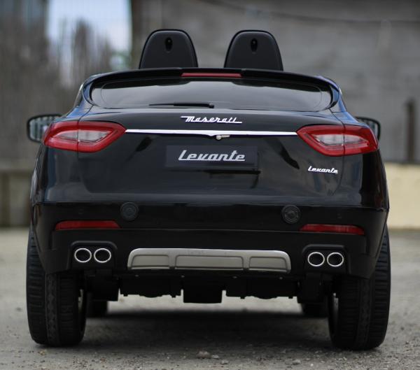 Masinuta electrica Maserati Levante 2x35W PREMIUM #Negru 3