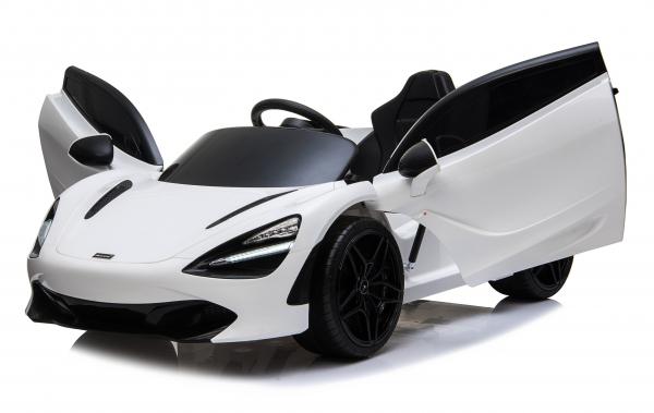 Masinuta electrica McLaren 720S 90W 12V PREMIUM #Alb 0