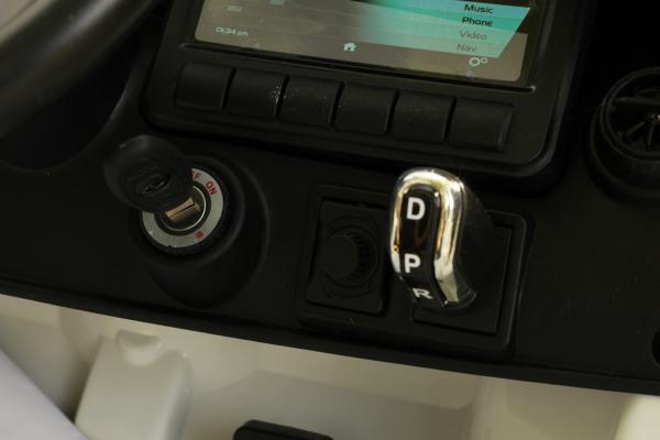 Masinuta electrica McLaren 720S 90W 12V PREMIUM #Alb 8
