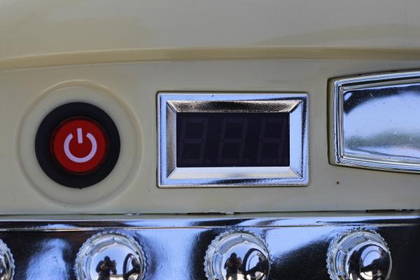 Masinuta electrica Mercedes 300S 70W 12V PREMIUM #Albastru 8