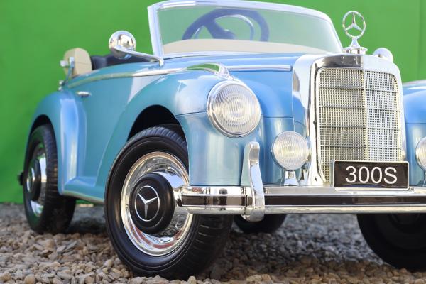 Masinuta electrica Mercedes 300S 70W 12V PREMIUM #Albastru 11