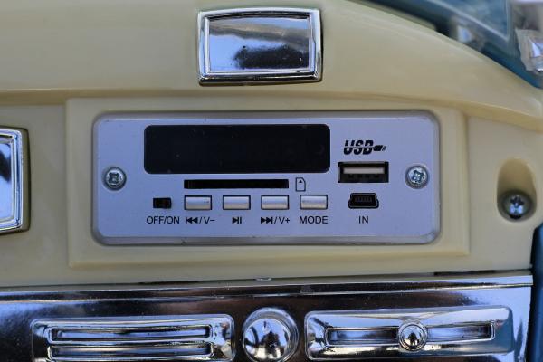 Masinuta electrica Mercedes 300S 70W 12V PREMIUM #Albastru 7