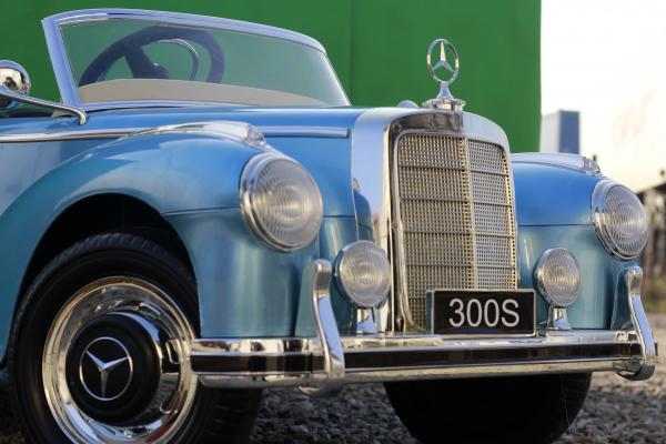 Masinuta electrica Mercedes 300S 70W 12V PREMIUM #Albastru 12