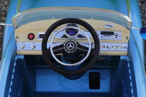 Masinuta electrica Mercedes 300S 70W 12V PREMIUM #Albastru 6