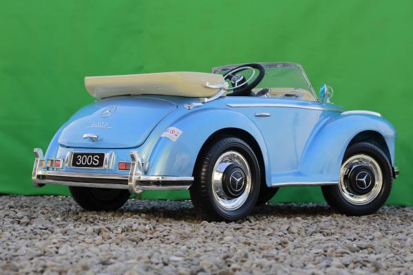Masinuta electrica Mercedes 300S 70W 12V PREMIUM #Albastru 4