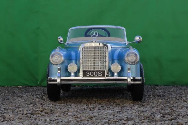 Masinuta electrica Mercedes 300S 70W 12V PREMIUM #Albastru 1