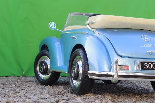 Masinuta electrica Mercedes 300S 70W 12V PREMIUM #Albastru 10