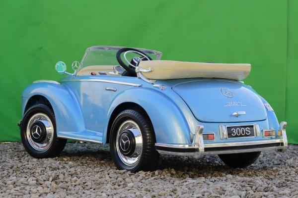 Masinuta electrica Mercedes 300S 70W 12V PREMIUM #Albastru 5