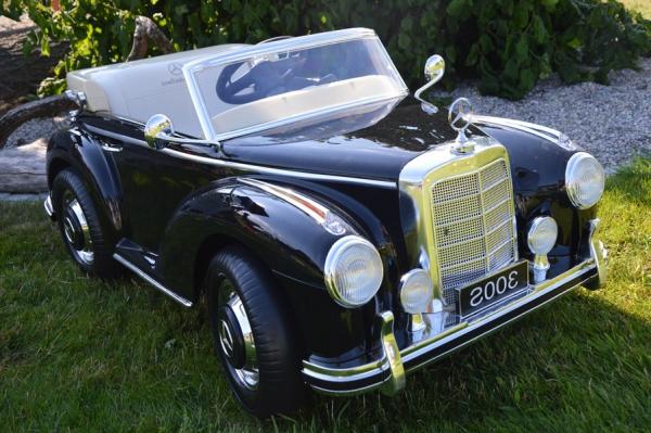 Masinuta electrica Mercedes 300S 70W 12V PREMIUM #Negru 1