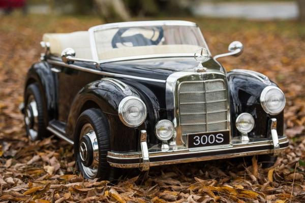 Masinuta electrica Mercedes 300S 70W 12V PREMIUM #Negru 6