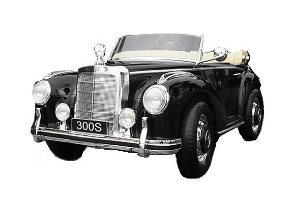 Masinuta electrica Mercedes 300S 70W 12V PREMIUM #Negru 0