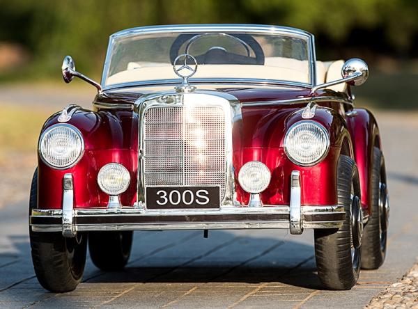 Masinuta electrica Mercedes 300S PREMIUM #Rosu 3