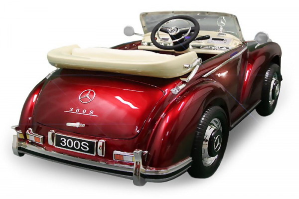 Masinuta electrica Mercedes 300S PREMIUM #Rosu 1