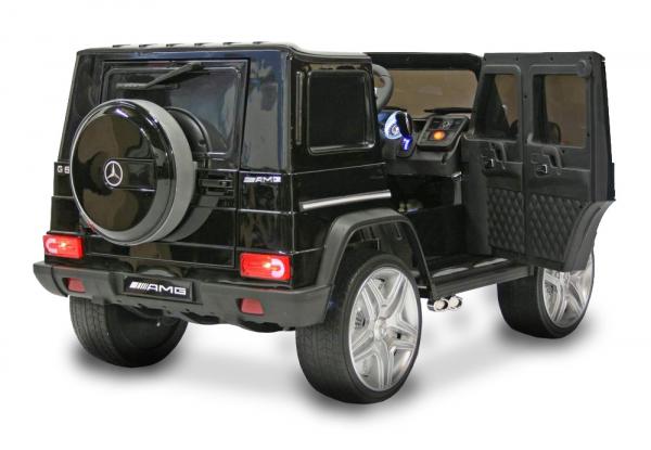 Masinuta electrica Mercedes - Benz  G65 XXL STANDARD #Negru 6