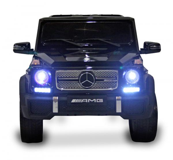 Masinuta electrica Mercedes - Benz  G65 XXL STANDARD #Negru [0]
