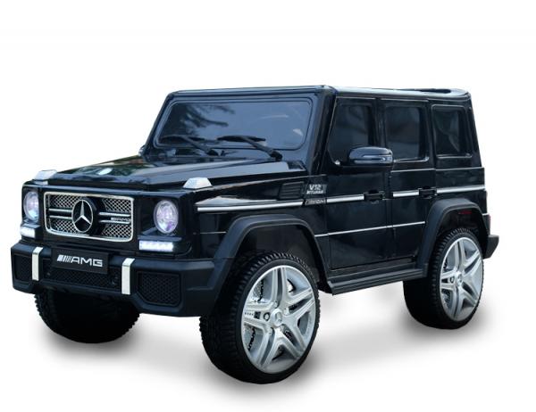 Masinuta electrica Mercedes - Benz  G65 XXL STANDARD #Negru [2]