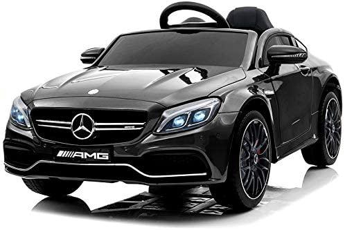 Masinuta electrica Mercedes C63 12V PREMIUM #Negru 0