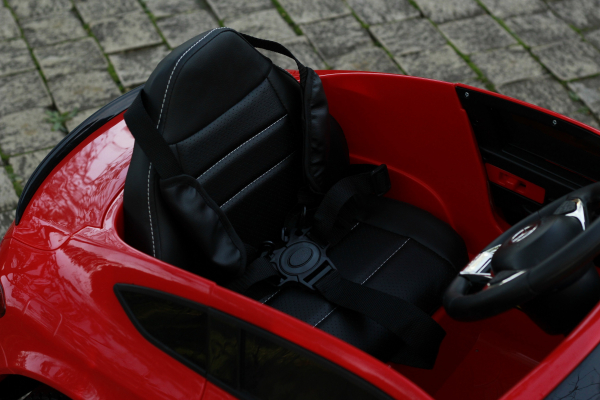 Masinuta electrica Mercedes C63 12V PREMIUM #Rosu 4