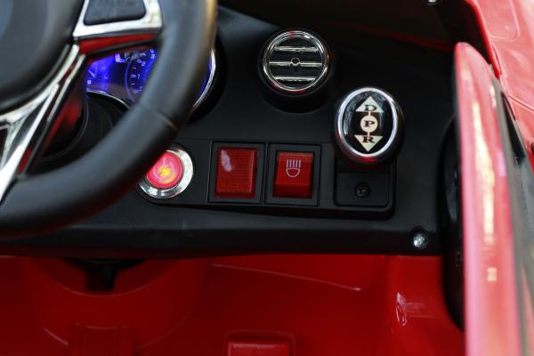 Masinuta electrica Mercedes C63 12V PREMIUM #Rosu 6