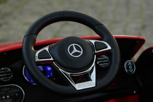 Masinuta electrica Mercedes C63 12V PREMIUM #Rosu 10