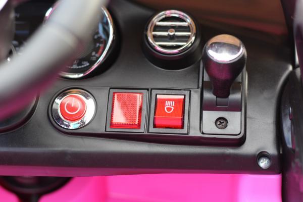 Masinuta electrica Mercedes C63 12V STANDARD #Roz [8]