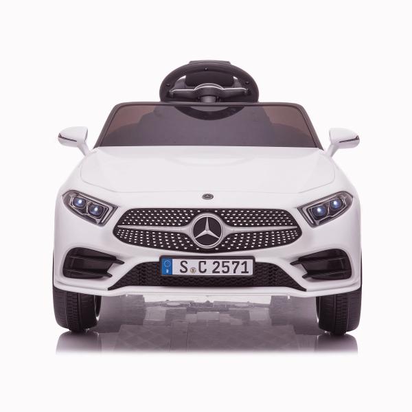 Masinuta electrica Mercedes CLS350 50W 12V PREMIUM #Alb 7