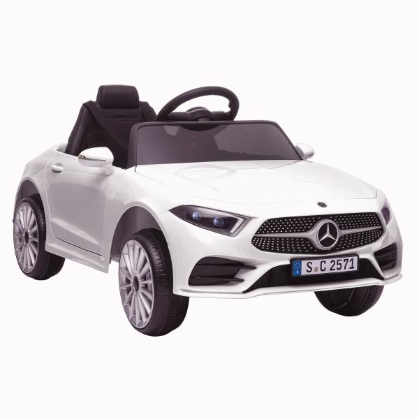 Masinuta electrica Mercedes CLS350 50W 12V PREMIUM #Alb 0