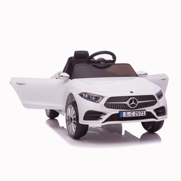 Masinuta electrica Mercedes CLS350 50W 12V PREMIUM #Alb 1