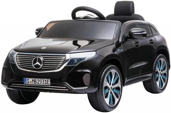 Masinuta electrica Mercedes EQC400 70W 12V STANDARD #Negru [7]