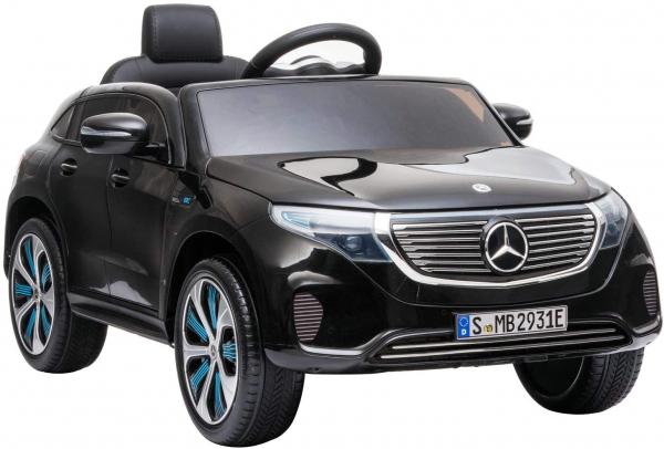 Masinuta electrica Mercedes EQC400 70W 12V STANDARD #Negru [0]