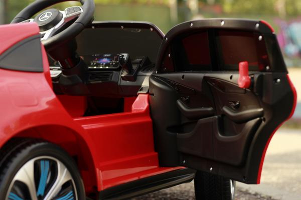 Masinuta electrica Mercedes EQC400 70W 12V STANDARD #Rosu 11