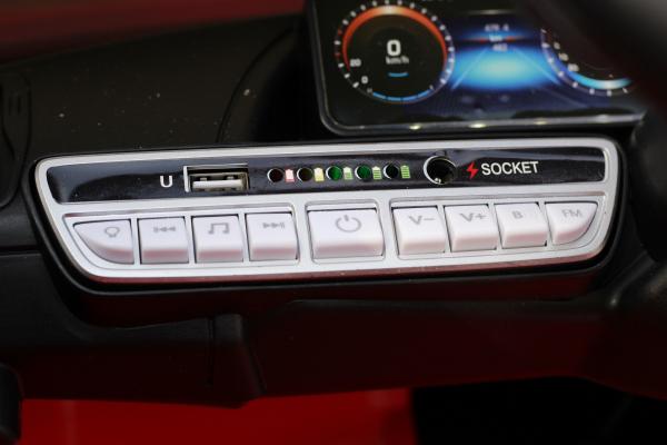 Masinuta electrica Mercedes EQC400 70W 12V STANDARD #Rosu 8