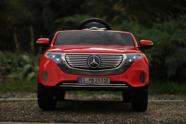 Masinuta electrica Mercedes EQC400 70W 12V STANDARD #Rosu 7