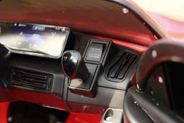 Masinuta electrica Mercedes EQC400 70W 12V STANDARD #Rosu 10