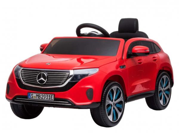 Masinuta electrica Mercedes EQC400 70W 12V STANDARD #Rosu 0